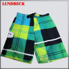Plaid Men′s Beach Shorts with Good Quality