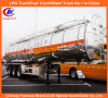 42000L Heavy Duty 3 Axle Aluminum Fuel Tank Semi Trailer