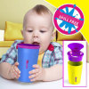 Drinking Cup, Kids Spill Free Cup, Plastic Cup