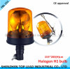 High Quality Rotary Halogen Warning Light / Rotating Warning Light
