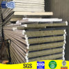 Green Color Rockwool Wall insulated sandwich panel