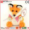 Free Sample Cartoon Plush Orange Fox Stuffed Animal Soft Toy