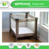 Slf-B Peach Skin Quilted Waterproof Crib Size Mattress Protector