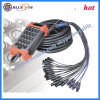 Audio Cable Stage Snake Cable with Box XLR Connector AV Input Output Cable 24 Channel Multicore XLR Audio Loom