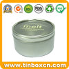 Round Food Tin Box with Clear Window for Chocolate Candy