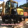 Used Hyundai Wheel Excavator Hyundai 60W (6T) Wheel Excavator for Sale