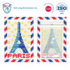 Mosaic Luggage Tag/ ID Card Holder- I Love Paris