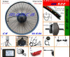 Rear Motor Electric Bike Kits with LCD Display (MK522)