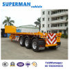 Vietnam Hot Sales Tri Axle Semi Trailer /Flatbed Trailer