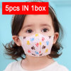 Disposable Isolation 3-12 Years Old Individual Package Kids Face Mask
