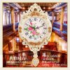 European Creative Wall Clocks Hot Sale Luxury Diamond Clock Wall Clock for Home Wall Decor (AS025)