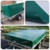 Waterproof PVC Trailer Covers Knife Coated Fabric