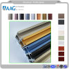 Powder Coating Grey 6063 T5 Aluminum / Aluminium Profile for Windows Doors and Industrial Products