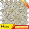 Crystal Ceramic Glass Marble Mosaic Wall Tile (SA003)