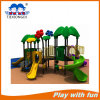 Hot Selling Plastic Outdoor Playground with Rotational Slide, Straight Slides