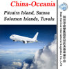 Shipping Pitcairn Island, Samoa, Solomon Islands, Tuvalu (Forwarder, logistic agent)