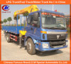 Knuckle Boom Truck Mounted 10tons Telescopic Truck Crane