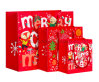 Custom Coloured Boutique Christmas Packing Paper Holiday Gift Bags