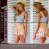 New Design Wholesale Beachwear Women Jumpsuits Printed Summer Shorts (TONY6037)