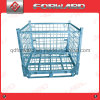 Foldable Steel Wire Mesh Container Storage Cage