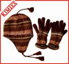 Winter Warmer Acrylic Knitted Promotion Jacquard Sets