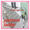 3 Position Telescopic Ladder /Aluminum Step Ladder 3.2m/3.8m/4.4m/5m