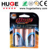 1.5V D Size Shrink Pack Alkaline Battery Lr20