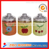 3PCS Weaved Glass Storag Jar Set
