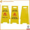 Plastic A Shape Printable Traffic Warning Floor Sign L300W200h610mm
