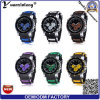 Yxl-187 2016 New Arrive Cute Gift Fashion Bracelet Jelly Men Sports Silicon Watch More Time Zone Wrist Watch Factory