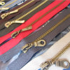 No. 5 Brass Zipper for Apparel Accessories with Auto Parts