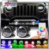 RGB LED Fog Lights for Jeep Wrangler Jk