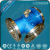 Flanged Jacketed Three Way Ball Valve