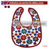 Baby Wear Organic Cotton Baby Bib Sunflower Party Items (P1019)