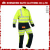 Safety Reflective Long Sleeve Men Workwear Coverall (ELTHVCI-5)