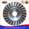 100mm Turbo Cup Wheel with Aluminium Core for Stone