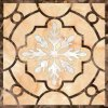 Natural Marble Pattern Waterjet Custom Design Marble Waterjet Floor