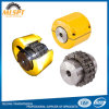 Yellow Case with Strand Sprocket Roller Chain Coupling