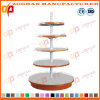 Hot USA Metal Powder Coating Supermarket Round Display Shelf (Zhs49)