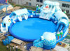 Huge Slide with Pool