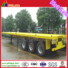 20FT 40FT Semi Skeletal/ Flat Bed Trailer for Containers Transport