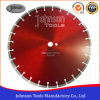 "16"" Laser Welded Diamond Blade for Asphalt Overlay Cutting"