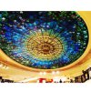 Waterproof Art Colored Glass Mosaic Home Decor Framed Ceiling Tiles