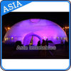 LED Lighting Inflatable Dome Tent, Double Layer Inflatable Marquee