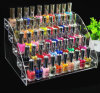 Acrylic Nail Polish Table Rack Organizer Display (Hold Up To 70 Bottles)