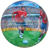 Machine Stitched with 32 Panels PVC Full Printing Soccer Ball (SM6002)