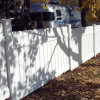 7/8X6 Picket Fence with Top Quality