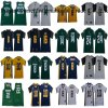 Golden Bears Spartans Rodgers Goff Lynch Bell Lewerke College Jerseys
