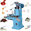 Automatic Round Shaped Vacuum Seeds Round Can Sealing Machine