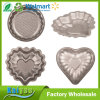Mini Cute Decorator Non Stick Cake Mould with Round and Heart Shape